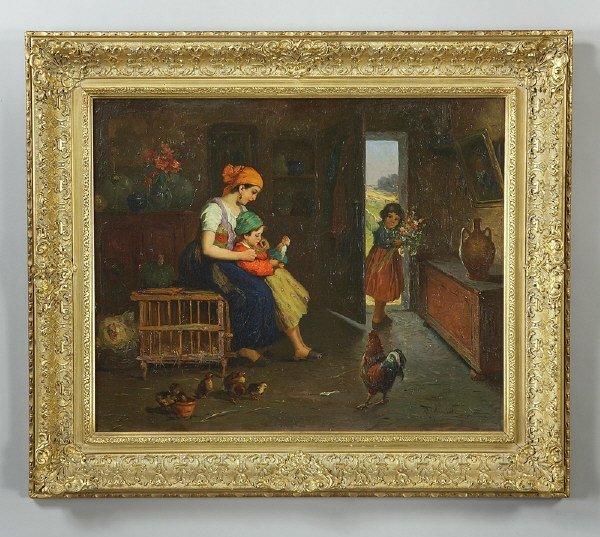 11: Rudolph Jelinek oil painting on canvas,