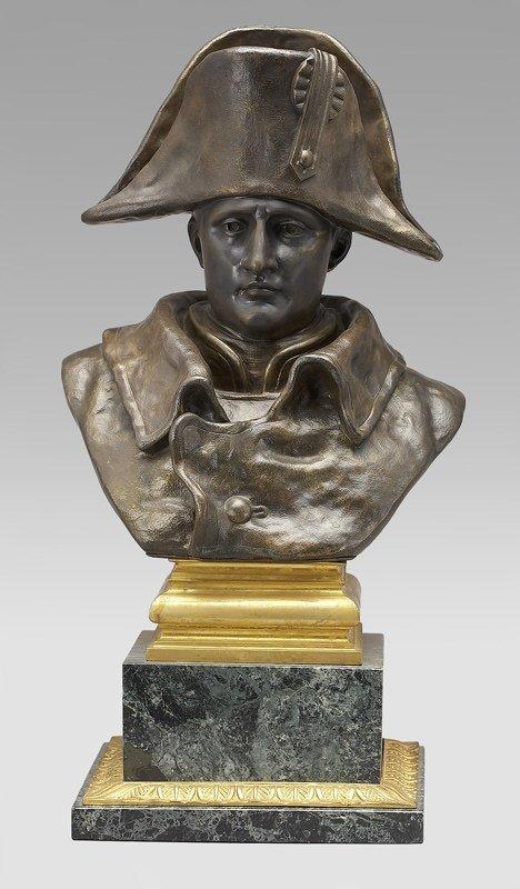 19: Bronze bust of Napoleon