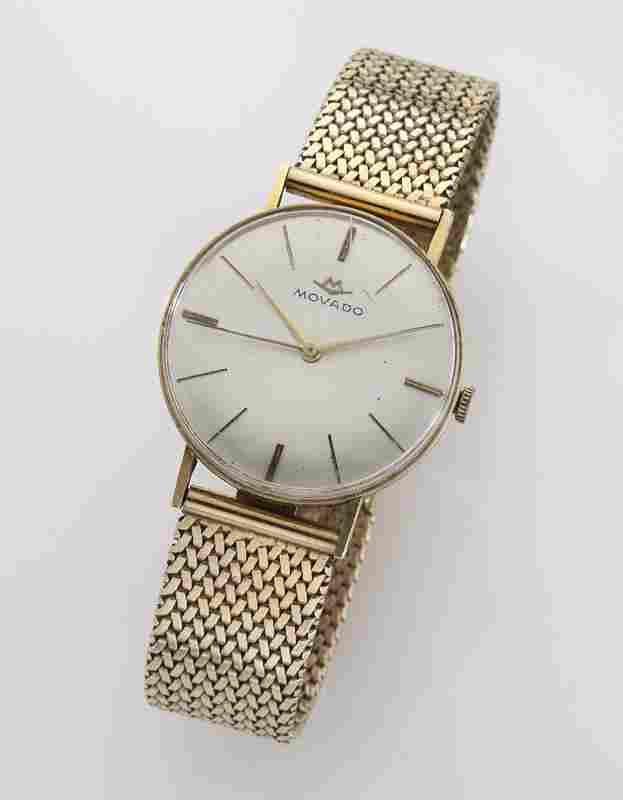 Movado 14K gold wristwatch