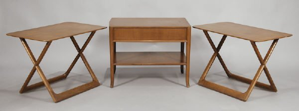 15: (3) T.H Robsjohn-Gibbings side tables for