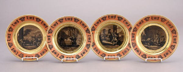 21: (4) French Stone Coquerel et le Gros plates