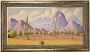 133: Hermann Dudley Murphy oil painting on canvas