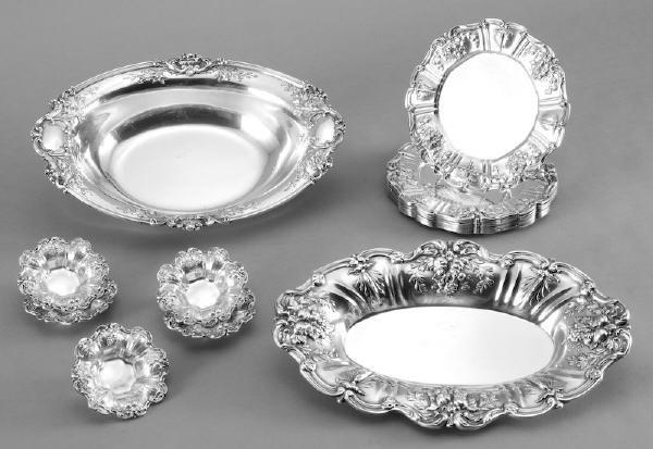 20: 15 Pcs. Reed and Barton Francis I sterling silver