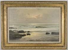 121: Robert William Wood oil painting on canvas,
