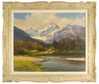 151: Robert William Wood oil painting on canvas,
