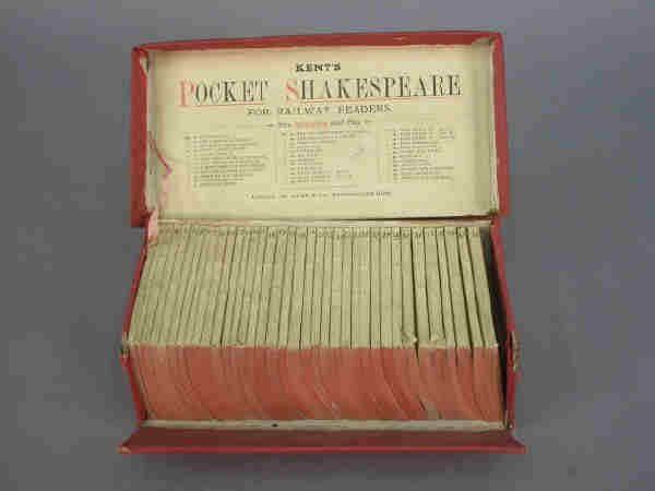"7: ""Kent's Pocket Shakespeare"", boxed set."