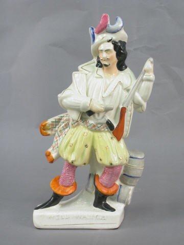 "405: Staffordshire ""Will Watch"" figurine."