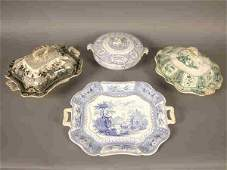 476 4pcs Asst pottery including