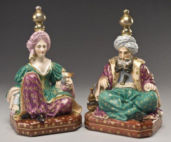 3: Pr. Jacob Petit porcelain sultan perfumers,