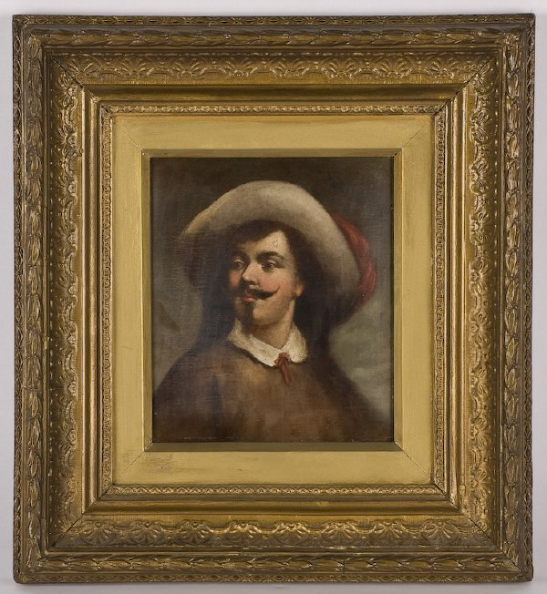 12: After Frans Hals I oil painting on board,
