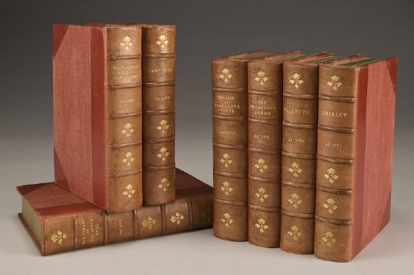 "18: 7 Vols. ""The Life and Works of Charlotte Bronte"