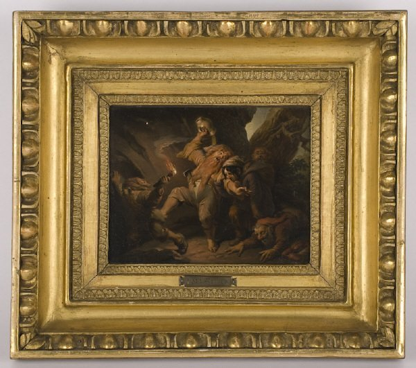 20: Karl Joseph Geiger oil painting on board,