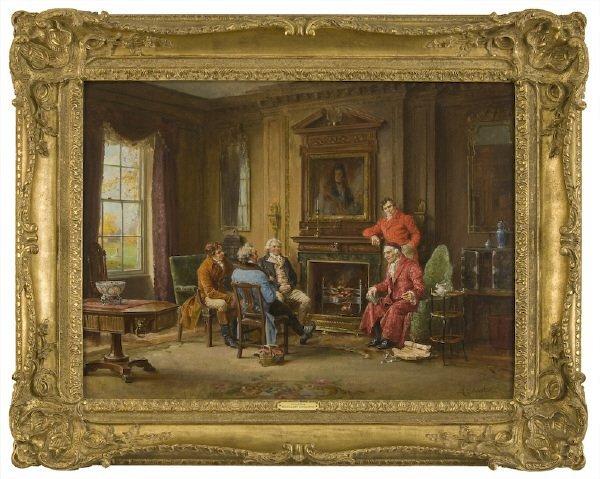 174: Margaret Dovaston oil painting on canvas,