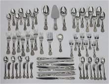 (61) Pcs. Reed & Barton Francis I sterling silver