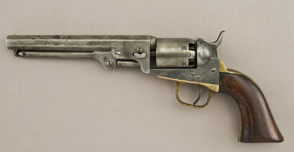 1: Colt Model 1849 .31. cal. SA Pocket revolver