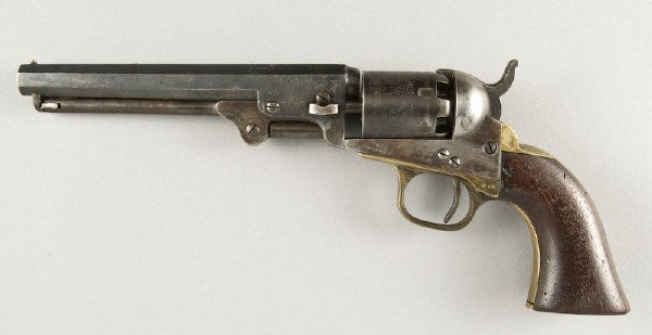 10: Colt Model 1849 .31 cal. Pocket SA revolver
