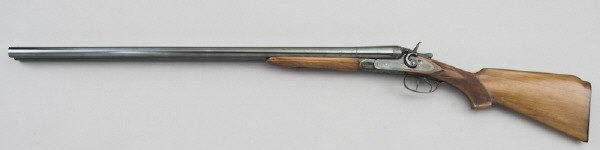 29: Creedmoor 10 ga. double barrel hammer shotgun