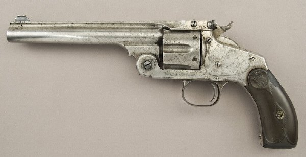 32: Smith and Wesson .38 cal. New Model No.3 SA
