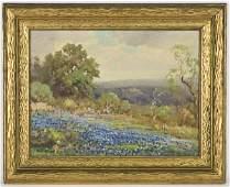 134: Robert William Wood oil painting on canvas,