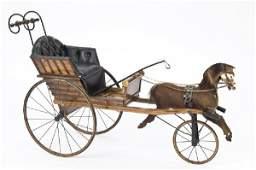 12 Childs vintage jumper horse carriage