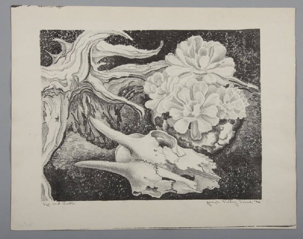 1: Joseph Polley Paine (Am. 1912-), lithograph