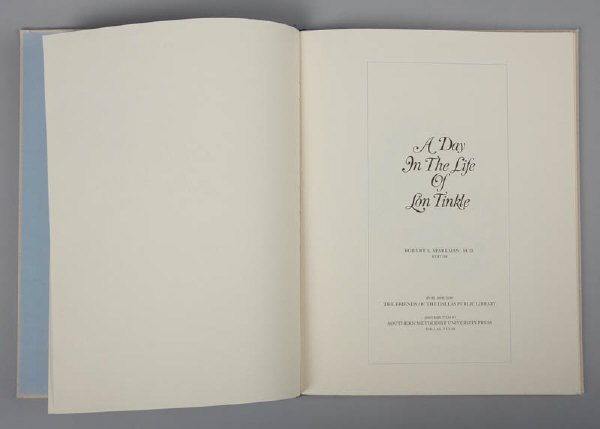8: Book edited by Howard Sparkman