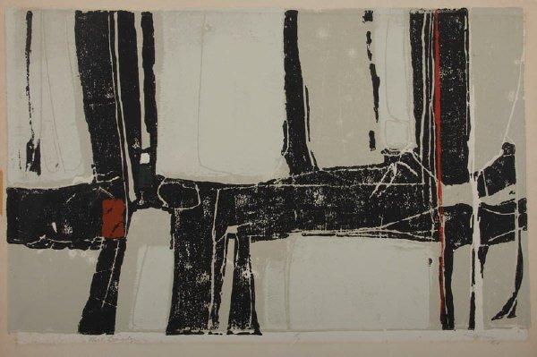 12: Janice Hamm, serigraph