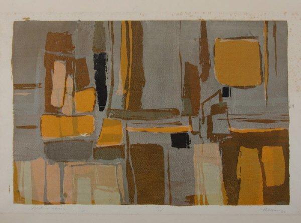 13: Janice Hamm, serigraph