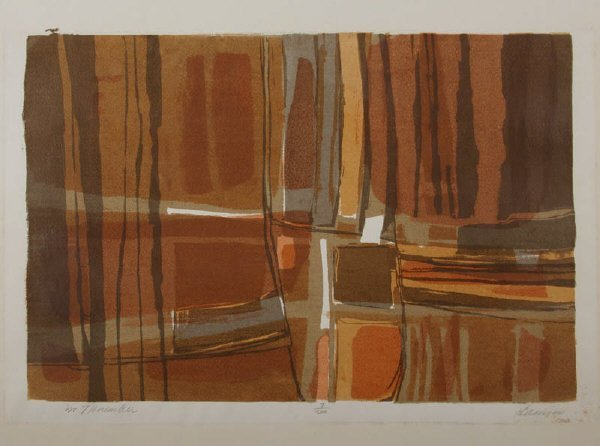 17: Janice Hamm, serigraph