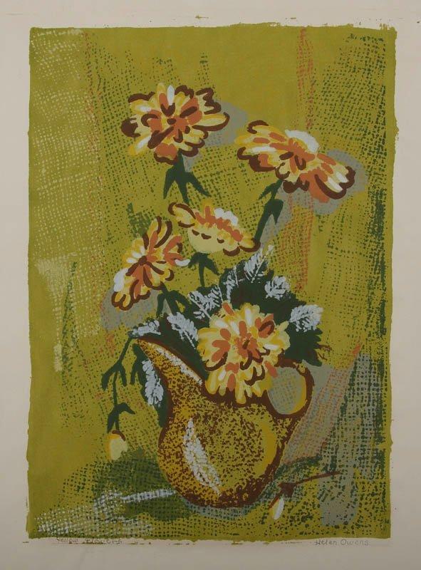 22: Helen Owens, serigraph