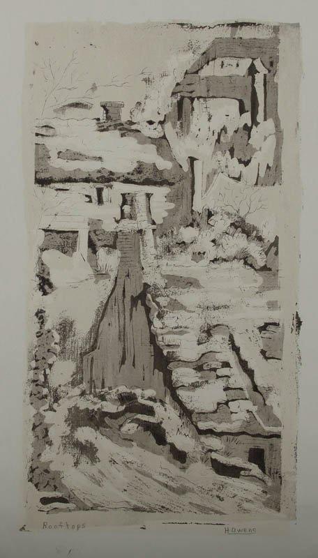 23: Helen Owens, serigraph