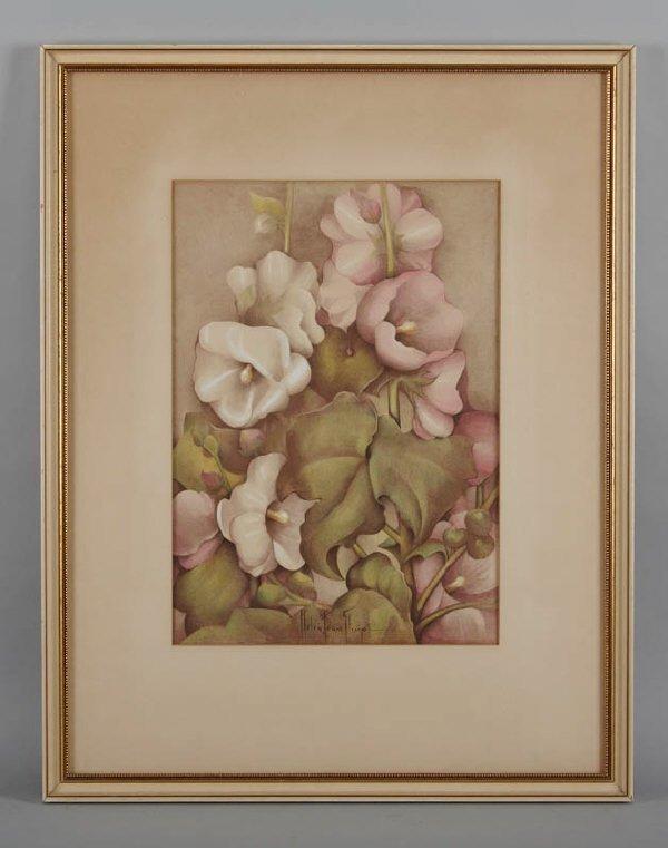 24: Helen Fern Slimp (Am. 1890-1995), color lithograph