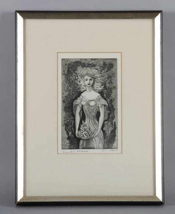 35: Bror Utter (Am. 1913-1993), print