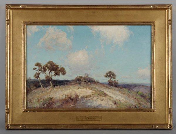 131: Julian Onderdonk (Am. 1882-1922), oil on canvas