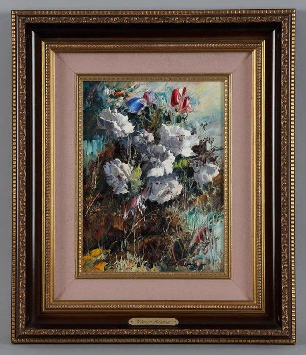223: Jose Vives-Atsara (Am. 1919-2004), oil on canvas