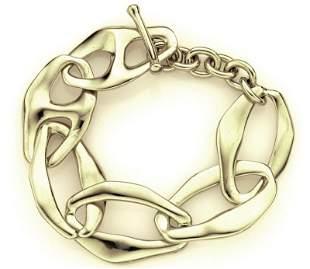 Elsa Peretti for Tiffany & Co. 18K gold Aegean