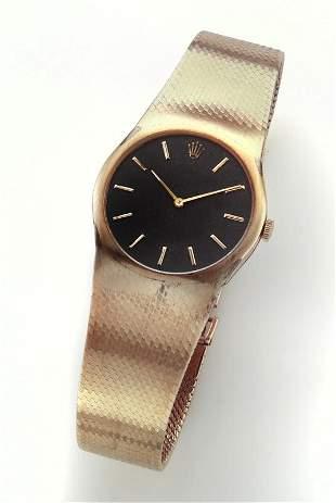 Rolex Cellini 14K gold vintage watch.