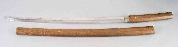 8: Japanese Edo Period Samurai sword, Shira Saya having