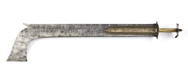 "46: Indian Malabar Nair ""Temple"" sword having a 27"" sin"