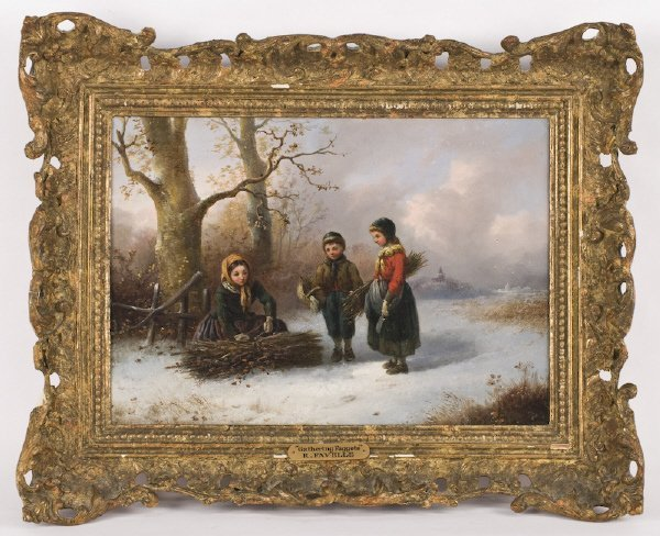 5: Robert Favelle oil painting on panel