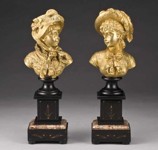 8: Pr. After Emile Guillemin bronze sculptures