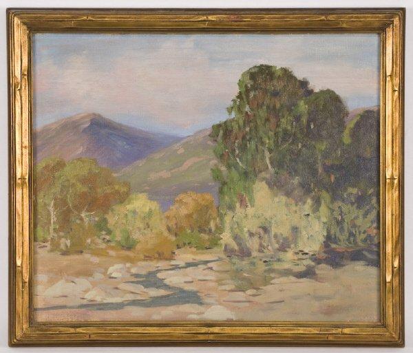 10: George Sanders Bickerstaff oil painting on canvas,