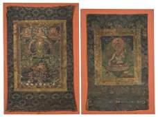 14 2 Chinese  Tibetan Qing dynasty Thangka
