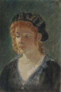 "James Wells Champney ""Untitled (Portrait)"""
