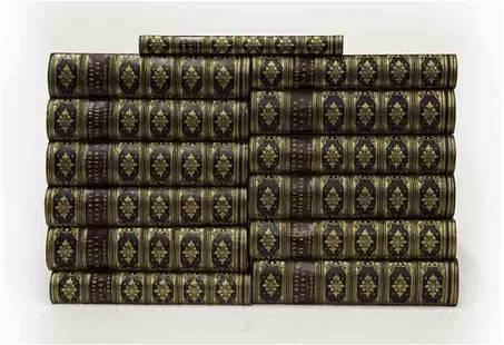 """(13) Volume set """"Works of Charles Dickens"""""""