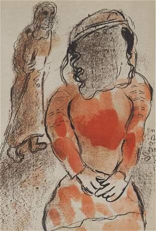 "Marc Chagall ""Tamar, Daughter-In-Law of Judah"""