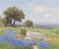 "Porfirio Salinas ""Untitled (Bluebonnet landscape)"""
