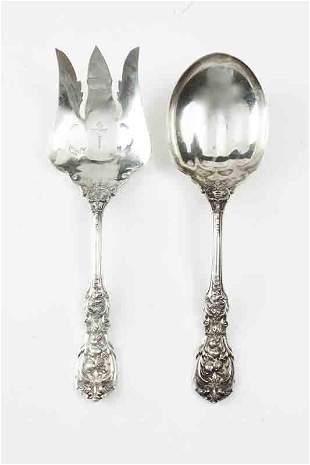 Reed & Barton Francis I sterling silver salad