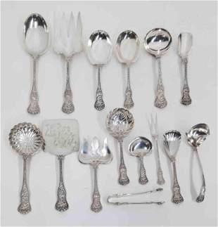 (15) Tiffany & Co. Olympian sterling silver