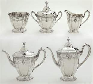 (5) Pcs. Reed & Barton Heritage sterling silver
